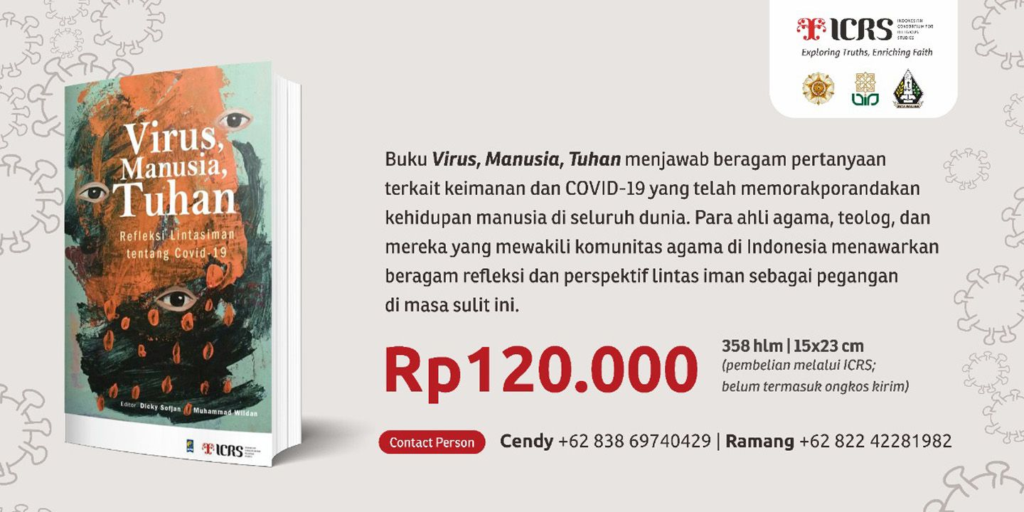 ICRS' New Book: Virus, Manusia, Tuhan