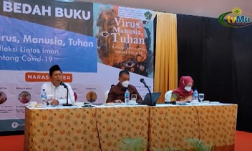 Thumbnail of news: Book Review - Virus Manusia dan Tuhan: Refleksi Lintas Iman tentang COVID-19 - by The Ministry of Religious Affairs of The Republic of Indonesia