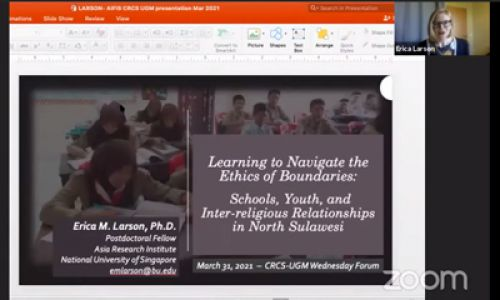 Learning to Navigate the Ethics of Boundaries: School, Youth, and Inter-Religious Relationships in North Sulawesi