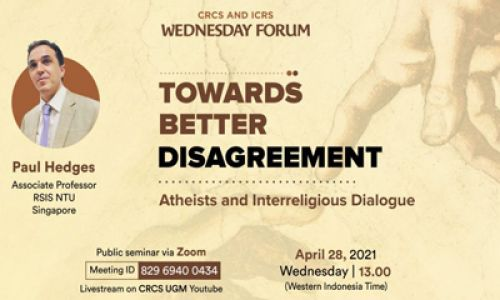 Thumbnail of wednesday forum: Towards Better Disagreement: Atheists and Interreligious Dialogue