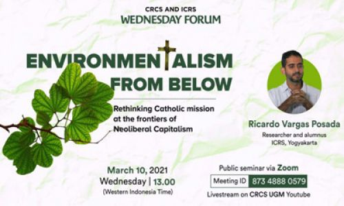 Environmentalism from below: Rethinking Catholic mission at the frontiers of Neoliberal Capitalism