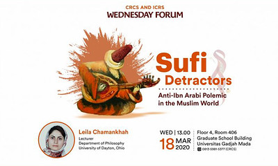 Thumbnail of wednesday forum: Sufi Detractors: Anti-Ibn Arabi Polemic in the Muslim World