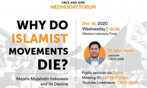 Thumbnail of wednesday forum: Why Do Islamist Movements Die?