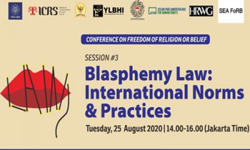 Blasphemy Law: International Norms and Practices