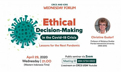 Thumbnail of wednesday forum: Ethical Decision-Making in the Covid-19 Crisis