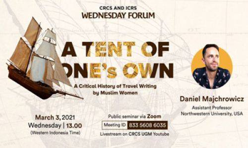 Thumbnail of wednesday forum: A Tent of One's Own: A Critical History of Travel Writing by Muslim Women