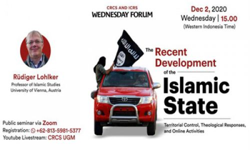 Thumbnail of wednesday forum: The Recent Development of the Islamic State
