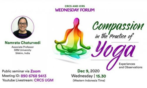 Thumbnail of wednesday forum: Compassion in the Practice of Yoga