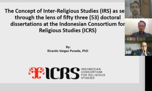 The Concept of Inter-Religious Studies as Seen through the Lens of 53 Doctoral Dissertations at the ICRS